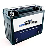 Replacement Y50-N18L-A3 Motorcycle Battery - Sealed AGM - Rechargeable High Performance - Factory Sealed and Activated - 260 CCA - Chrome Battery