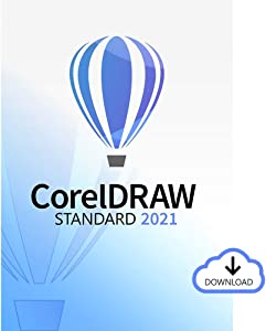 CorelDRAW Standard 2021 | Graphic Design Software for Hobby or Home Business | Illustration, Layout, and Photo Editing [PC Download]