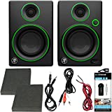 Beach Camera Mackie CR Series CR3-3 Creative Reference Multimedia Monitors (Pair) Green + Includes Bluetooth 2-in-1 Wireless Audio Receiver