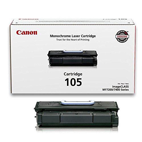 Canon (105) imageCLASS MF7460 Black OEM Toner Standard Yield (10,000 Yield) - Imageclass Mf7460 Laser
