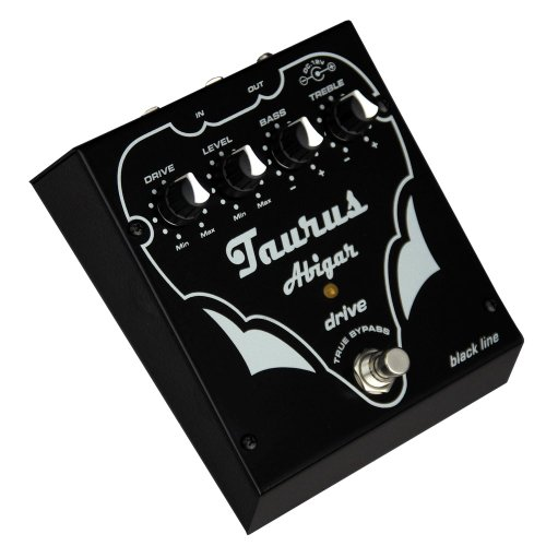 Taurus Amplification AbigarBL Bass Distortion Effects Pedal, Black Line by Taurus Amplifcation