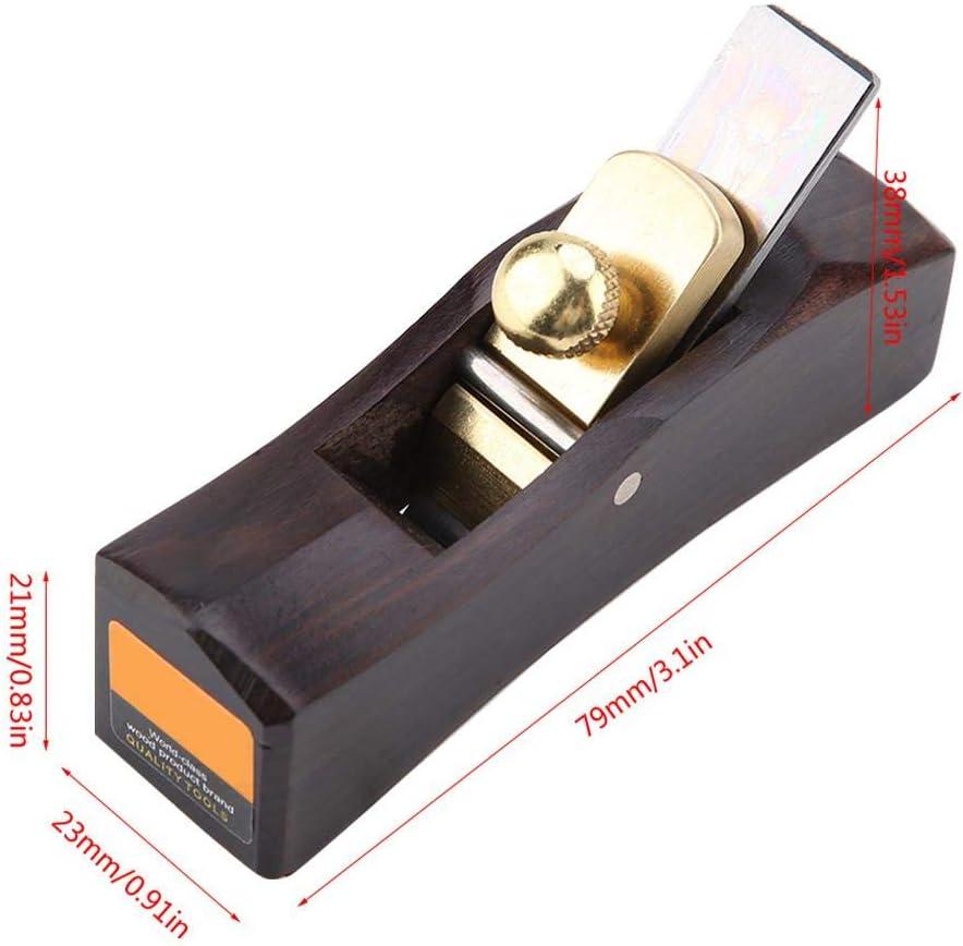 Mini outil /à main de raboteur en bois plan de fond en bois darc