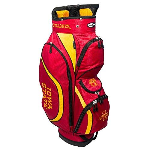 Team Golf NCAA Clubhouse Cart Bag, Iowa State by Team Golf