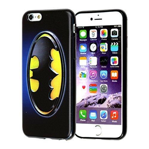 "Apple Iphone 6S 4.7"" Case, DURARMOR® FlexArmor [Lifetime Warranty] Iphone 6S Cover, Batman Bumper ScratchSafe Rubber TPU Case Protector Cover"