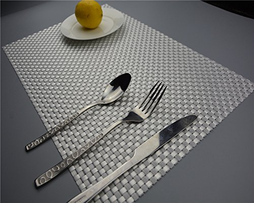 MAGA 1 1PC Classic PVC Placemats Place Table Mats Tableware Dinnerware Kitchen Dining Bar Accessories Tools Random Color from MAGA 1