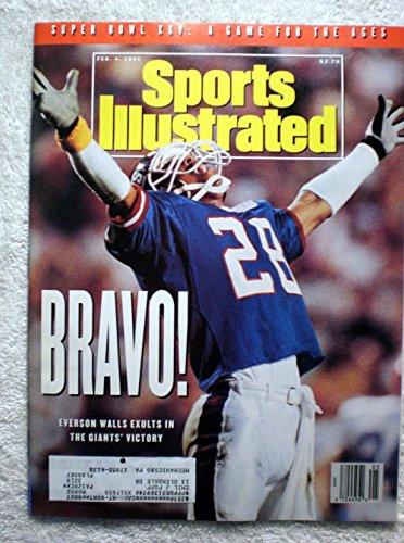 Everson Walls - New York Giants - Super Bowl XXV Champions! - Sports Illustrated - February 4, 1991 - Buffalo Bills - SI