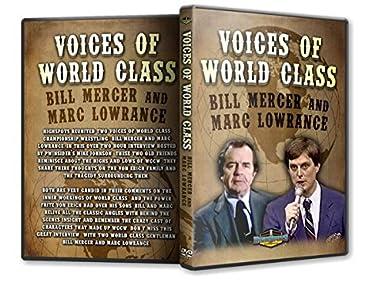 Tv Dvd Kast.Amazon Com Voices Of World Class Wrestling Dvd R Bill Mercer