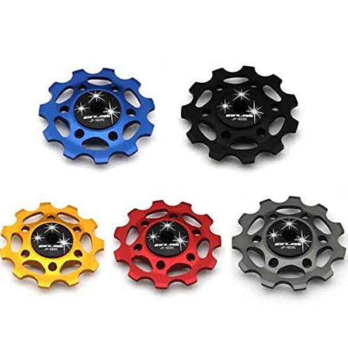 Bazaar 11 dents VTT vtt dérailleur arrière en aluminium Guide aolly 11T oisif de roue de poulie en céramique