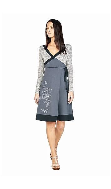 buy online f4684 cff1c Tijar - Dress MADELEINE - Woman - TL - Grey: Amazon.it ...