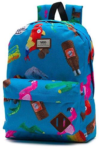Vans - Old Skool Ii, bolsa de medio lado Hombre, Multicolor (el Guapo), Talla Unica Multicolor (El Guapo)