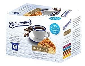 Entenmanns Hazelnut Flavored Coffee K-Cups 10 cups total 3.5oz