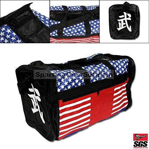 Taekwondo Bag, Martial Arts Bag, Gear Equipment Bag MMA Stars & Stripes Big Sports Bag 13