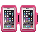Racer Sport Gym Armband CaseHigh Shop with Scratch-Resistant Dual Arm-Size Slots and Key Holder for Cellphones Under 5.8 Inch iPod MP3 Player?