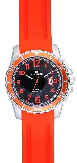 Minister Deportiva-8755 Reloj Unisex de de pulsera Deportiva-: Amazon.es: Relojes