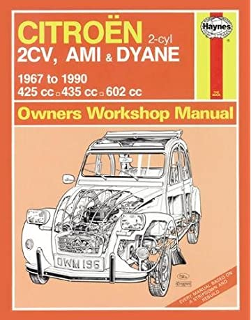 Citroen 2CV Owners Workshop Manual