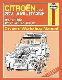 citroen 2cv owner s workshop manual haynes publishing rh amazon com citroen 2cv parts manual citroen 2cv repair manual download