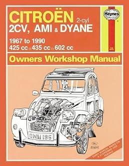 citroen 2cv owner s workshop manual haynes publishing rh amazon com citroen 2cv service manual citroen 2cv repair manual