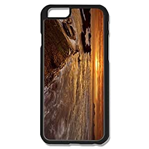 Funny Orange Cloudy Sky IPhone 6 Case For Him