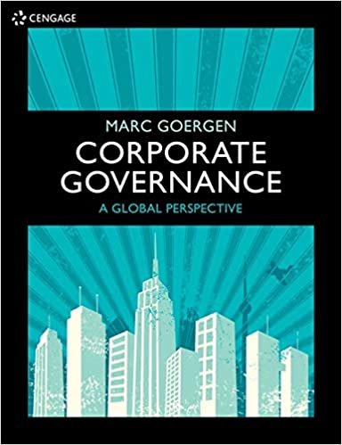 Corporate Governance: A Global Perspective - Original PDF