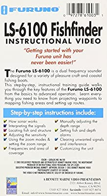 FURUNO LS 6100 FISHFINDER Recommended Instructional Training Video [VHS]