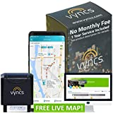 GPS Tracker for Vehicles Vyncs No Monthly Fee OBD RealTime 3G Car - Truck GPS 1 Year Data Plan Included - Location Tracking - Driving Alert - Engine Data - for Teens, Seniors, Family or Fleets – Alexa