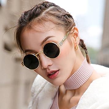 fashion style utterly stylish fashion styles VVIIYJ Visage Femme Lunettes de Soleil Petit Rond Cadre ...