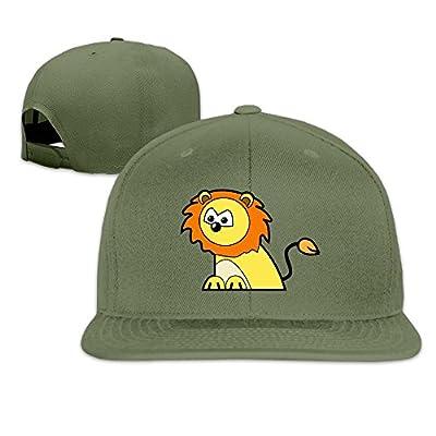 Professional Unisex Snapback Adjustable Truck Cap Sports Travel Hat Natural, Animals Cartoon Baseball Flat Hat