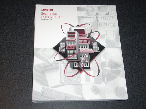 001 Compaq Rack - COMPAQ SMART ARRAY 3200 CONTROLLER Reference Guide, Part # 340862-001 1st Edition 1998. Genuine COMPAQ Manual.