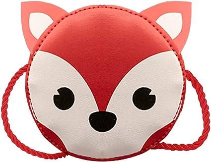 Poppy Face Purse Childrens Girls Kids HandBags Messenger Bow Soft Fluffy Zip