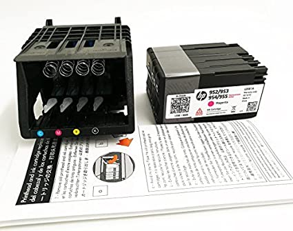 הוראות חדשות Amazon.com: Hp 952 Printhead with set up cartridge for HP VR-53