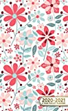 img - for 2020-2021 2 Year Pocket Planner: Adorable Floral Two-Year Monthly Pocket Planner with Phone Book, Password Log and Notebook. Cute Girly Floral Small At A Glance Calendar, Organizer and Agenda. book / textbook / text book