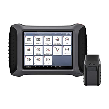 XTOOL A80 Code Scanner 8 Inch Tablet Full System Car Diagnostic Tool OBDII  Car Repair Tool Key Immobilizer/EPS/Service Light Reset/Mileage/EPB/TPS/ABS