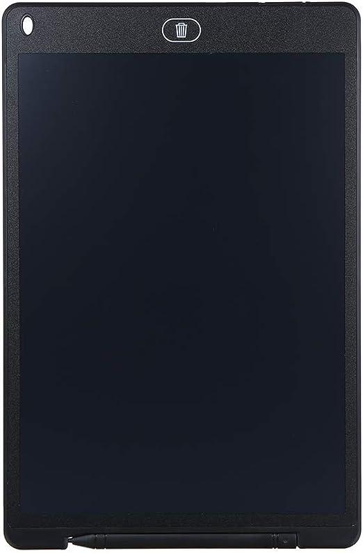 Tickas 12インチ液晶デッサンタブレットポータブルデジタルパッドライティングメモ帳電子グラフィックボードメモリマインダスタイラスペン(黒)