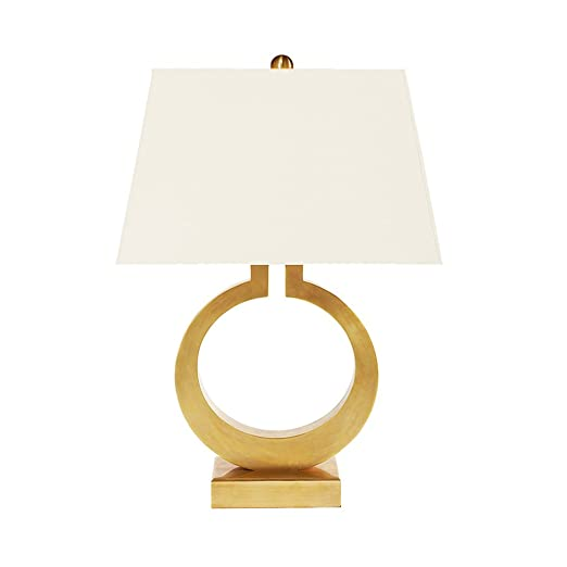 Led Lamps Post Modern Fashion Simple Table Lamp Iron Lamp Body Cloth Lampshade Table Lamp Designer Study Bedroom Reading Lamp E27 Holder Lights & Lighting