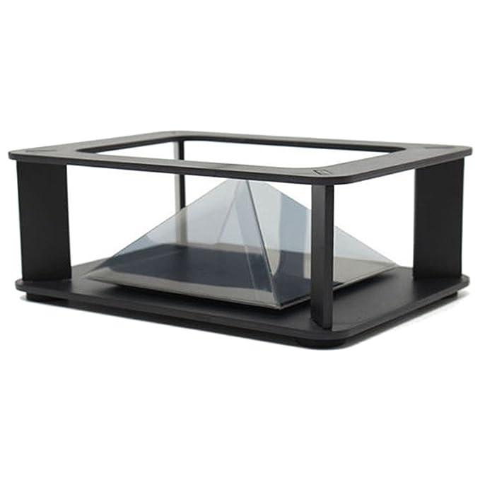 TOOGOO(R) Vitrina Smartphone DIY Holographic Pantalla 3D Cabinet ...