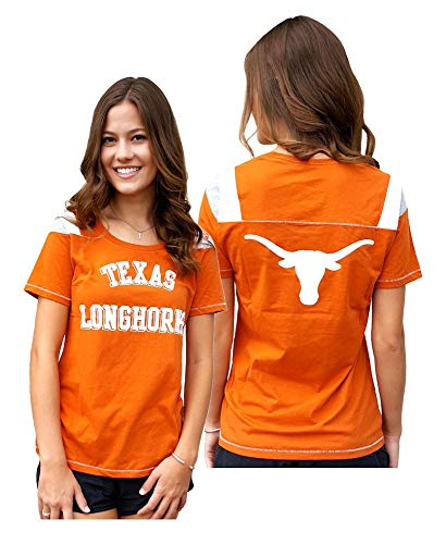 (Ladies Texas Longhorns 2 Sided Jersey Style T Shirt by 289c (M=8/10))