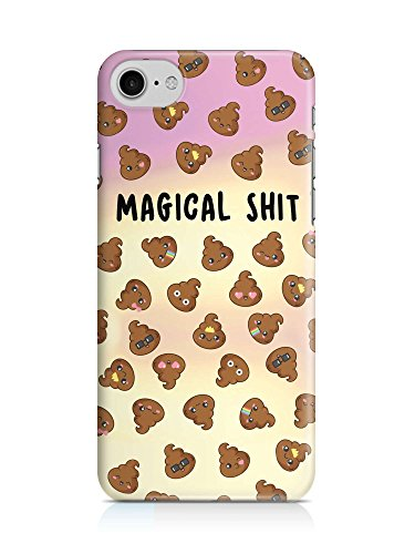 COVER Emoji Smiley Shit Kackhaufen Magical Handy Hülle Case 3D-Druck Top-Qualität kratzfest Apple iPhone 7