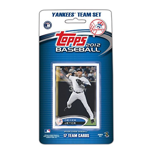 New York Yankees 2012 Topps Factory Sealed 17 Card Limited Edition Team Set Including Derek Jeter, Alex Rodriguez, Robinson Cano, CC Sabathia, Yankee Stadium and More. Cards Are Numbered NYY1 ()