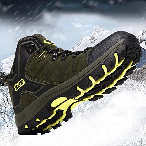 Mujer de Alpinismo de montaña montaña para Prueba Calzado Antideslizantes para de de a Botas Cuero de Zapatos Deportivo Agua x4ZqUaw