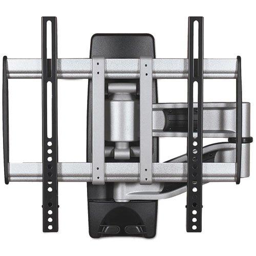 BALT 66648 HG Articulating Flat Panel Wall Mounts 19w x 22d x 17 3/4h Silver/Black
