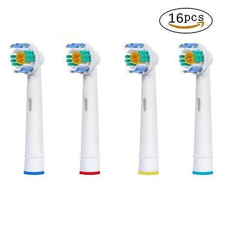 Cabezales de cepillo de repuesto compatibles con el cepillo de dientes eléctrico Braun Oral-B 3D ...