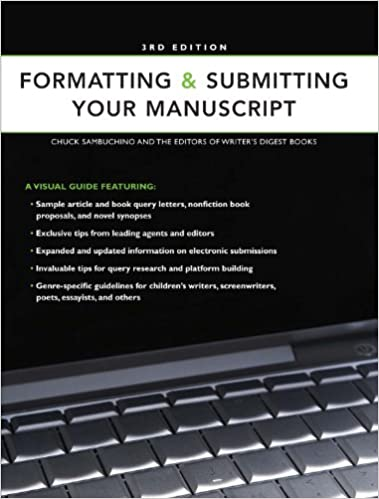 Formatting submitting your manuscript chuck sambuchino formatting submitting your manuscript third edition spiritdancerdesigns Images