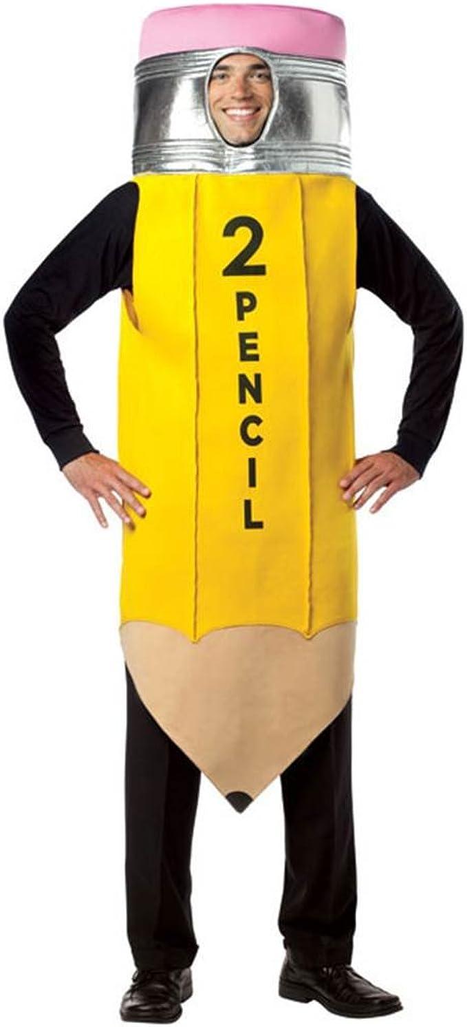 Amazon.com: Rasta Imposta Pencil Adult, Yellow, One Size: Clothing