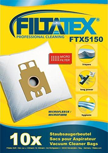 10 x sacs compatibles pour aspirateur MIELE FJM Super Air Clean S571 sacs /& 10 x assainisseurs d/'air