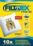 10 x FILTATEX sacs aspirateur Hoover SN70_SN15 sensory 700w / hoover sn70_sn15011 / hoover sn 70 sn 15 sensory noir - hoover sn70 sn15 - hoover sensory sn70 sn15011