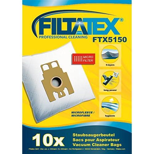 10 x FILTATEX sacs aspirateur alternative pour Hoover 09178286 / 35600392