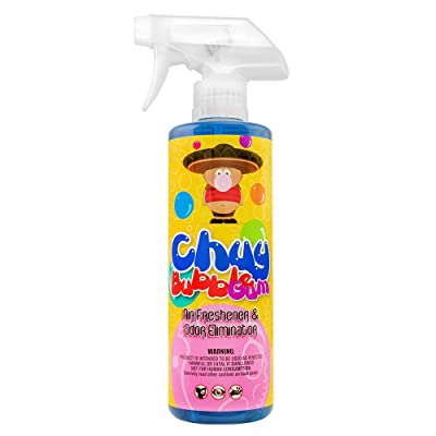 Chemical Guys AIR_221_16 Chuy Bubble Gum Premium Air Freshener and Odor Eliminator (16 oz): Automotive