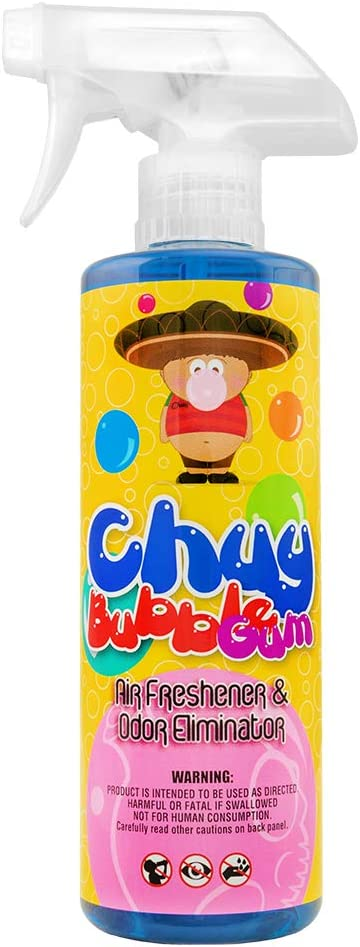 Chemical Guys Chuy Bubble Gum Premium Air Freshener and Odor Eliminator