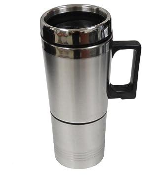 AERZETIX Calentador Hervidor de agua y café para coche, vehiculos 12V
