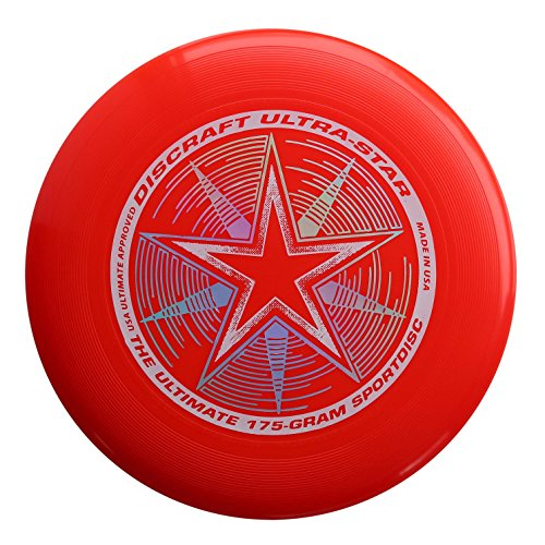 Discraft 175g Ultimate Disc Bundle (3 Discs) Red, White & Pink by Discraft (Image #1)